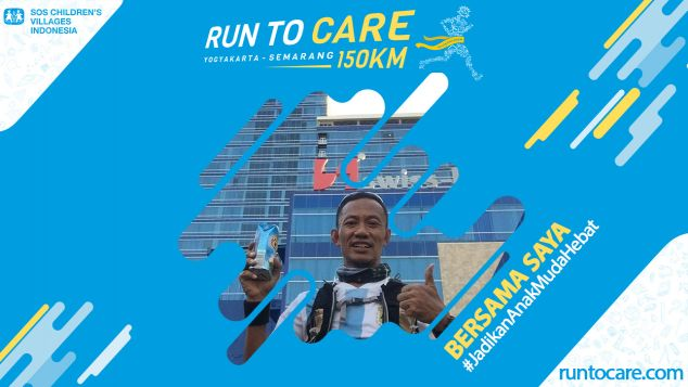 Arfan Berlari 150 KM Demi 2.200 Anak Negeri