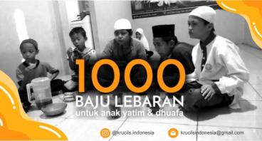 Baju Lebaran Untuk 1000 Krucils Yatim & Dhuafa