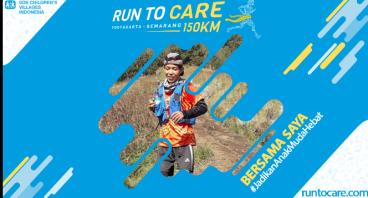 Faris Berlari 150 KM Demi 2.200 Anak Negeri