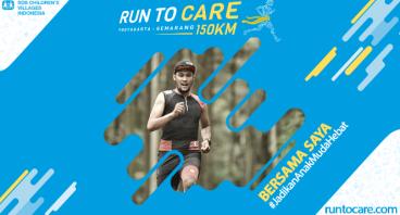 Guru Milang Berlari 150 KM Demi 2.200 Anak Negeri