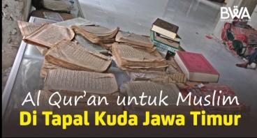 Wakaf Al Quran Perkuat Dakwah di Tapal Kuda