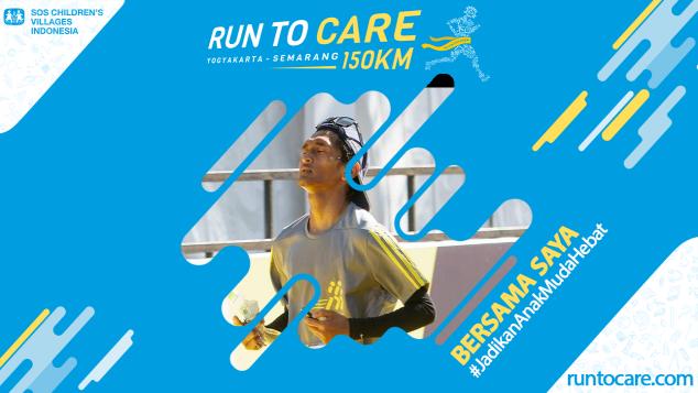 M. Agung Berlari 150 KM Demi 2.200 Anak Negeri