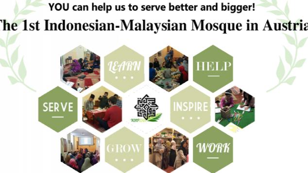 Masjid Indonesia-Malaysia Pertama di Wina, Austria