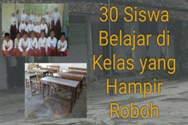 Bantu Bangun Madrasah yang Nyaris Ambruk