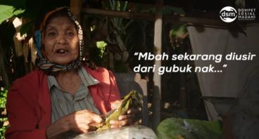 Muliakan Mbah Sis, Nenek Penjual Lontong