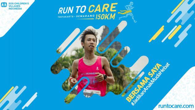 Andre A Berlari 150 KM Demi 2.200 Anak Negeri