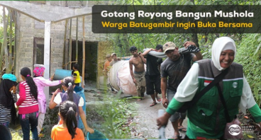 Buka Bersama di Kampung Muslim Terpencil di Bali
