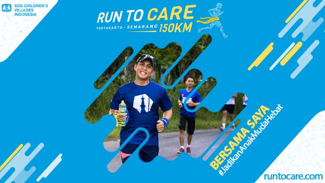 Nick Berlari 150 KM Demi 2.200 Anak Negeri