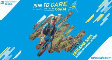 Erdwan Berlari 150 KM Demi 2.200 Anak Negeri