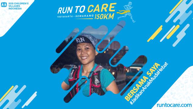 Iriyanti Berlari 150 KM Demi 2.200 Anak Negeri
