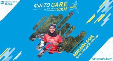 Reni Berlari 150 KM Demi 2.200 Anak Negeri