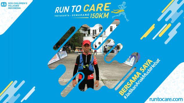 Syahlendra Berlari 150 KM Demi 2.200 Anak Negeri