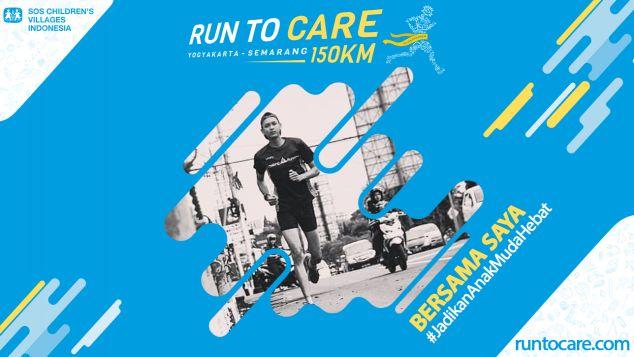 Ragil Ardi Berlari 150 KM Demi 2.200 Anak Negeri