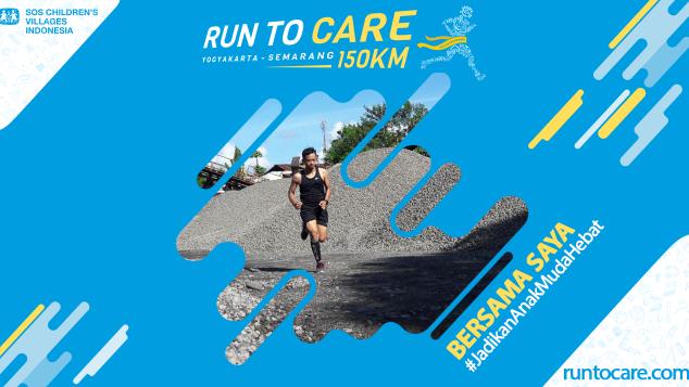 Wibowo Berlari 150 KM Demi 2.200 Anak Negeri