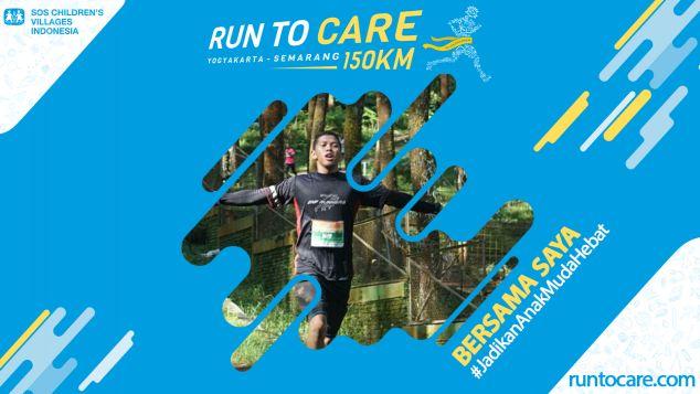 Wiwid Berlari 150 KM Demi 2.200 Anak Negeri