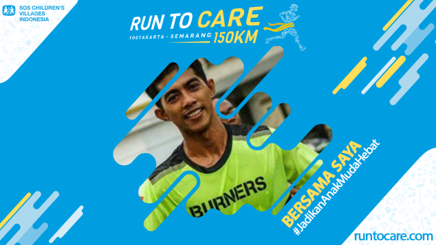 M. Syahrudin Berlari 150 KM Demi 2.200 Anak Negeri