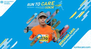 Teguh Berlari 150 KM Demi 2.200 Anak Negeri