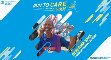 Yohanes Berlari 150 KM Demi 2.200 Anak Negeri