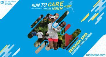 Noviana Berlari 150 KM Demi 2.200 Anak Negeri