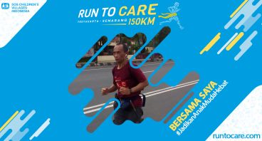 Slamet S Berlari 150 KM Demi 2.200 Anak Negeri