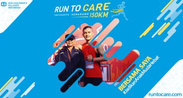 Robianto Berlari 150 KM Demi Anak Negeri