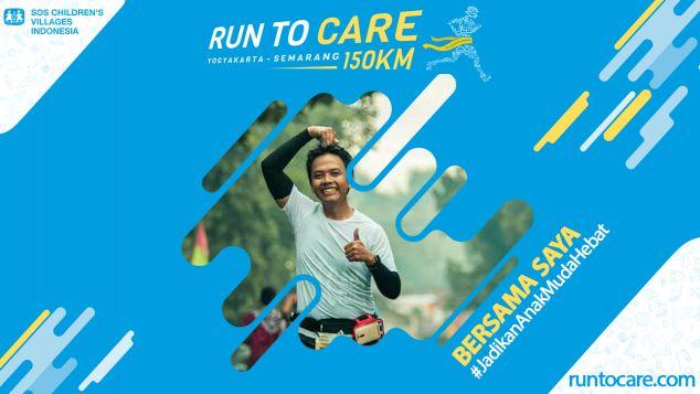 Pandu Berlari 150 KM Demi 2.200 Anak Negeri