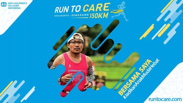 M. Ismail Berlari 150 KM Demi 2.200 Anak Negeri