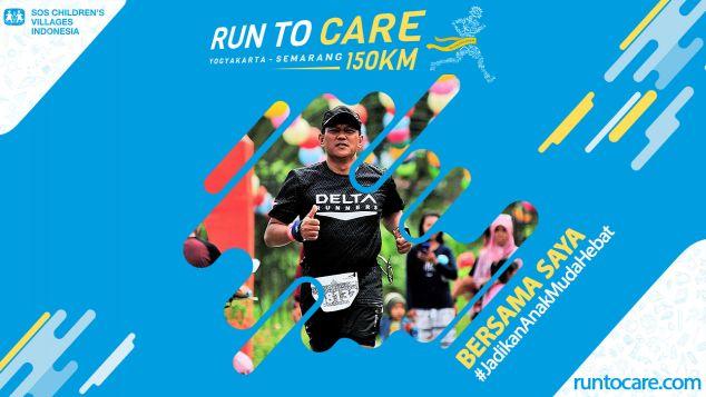 Arif Agus Berlari 150 KM Demi 2.200 Anak Negeri