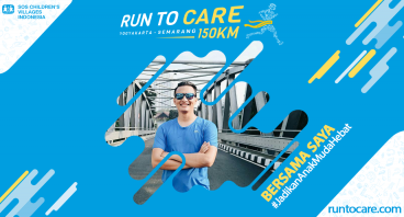 Julvyanno Berlari 150 KM Demi 2.200 Anak Negeri