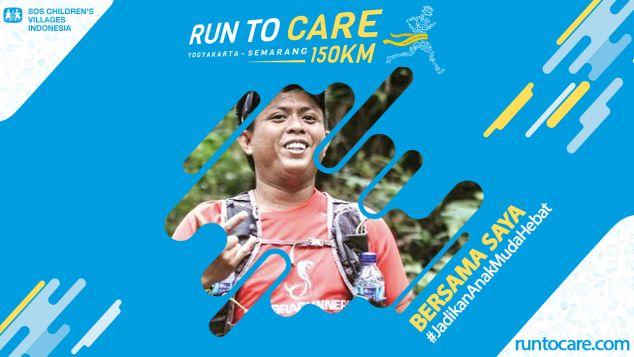 Bustamin Berlari 150 KM Demi 2.200 Anak Neger