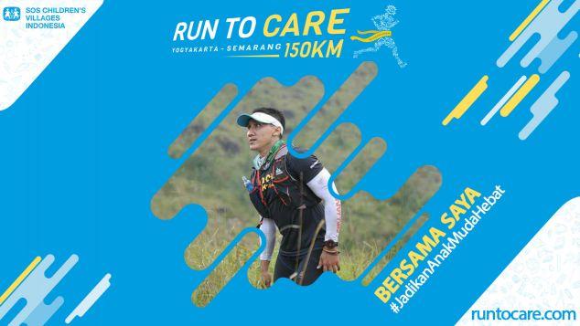 Asyhadi Berlari 150 KM Demi 2.200 Anak Negeri