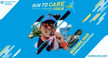 Epat Berlari 150 KM Demi 2.200 Anak Negeri