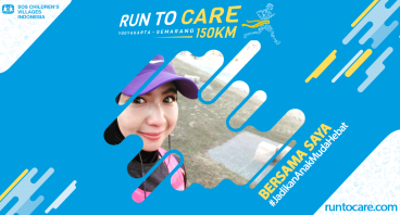 Annisa Z Berlari 150 KM Demi 2.200 Anak Negeri