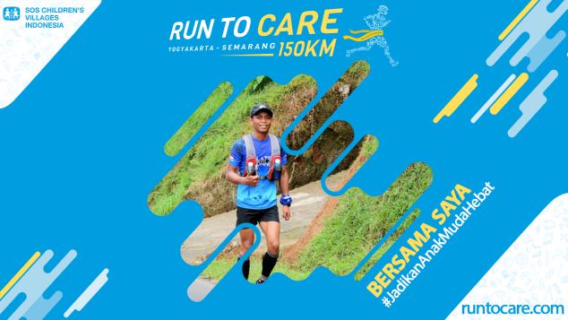 Satria Berlari 150 KM Demi 2.200 Anak Negeri