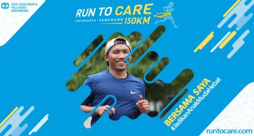 Asyrofi Berlari 150 KM Demi 2.200 Anak Negeri