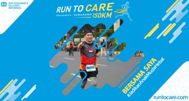 Ivan Tjayadi Berlari 150 KM Demi 2.200 Anak Negeri