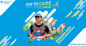 Taufiq Berlari 150 KM Demi 2.200 Anak Negeri