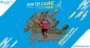Hendrik Berlari 150 KM Demi 2.200 Anak Negeri