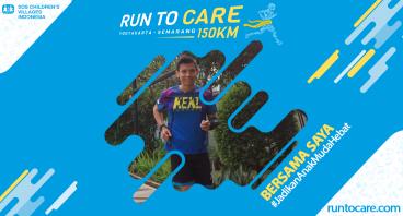 Adiyanto Berlari 150 KM Demi 2.200 Anak Negeri