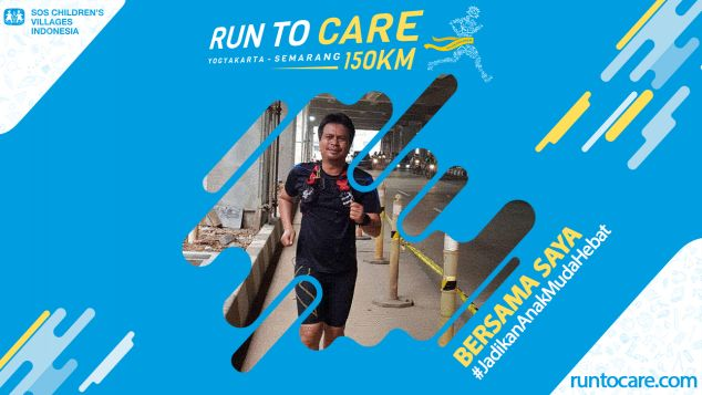 Beny Berlari 150 KM Demi 2.200 Anak Negeri