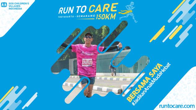 Severinus Berlari 150 KM Demi 2.200 Anak Negeri