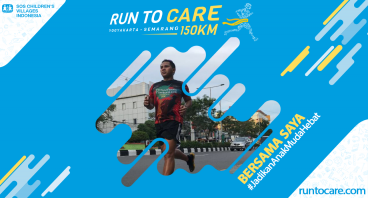 Michael Berlari 150 KM Demi 2.200 Anak Negeri