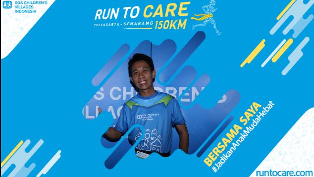 Hendra Berlari 150 KM Demi 2.200 Anak Negeri