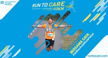 William Berlari 150 KM Demi 2.200 Anak Negeri