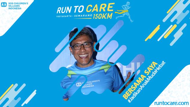 Rahmat Berlari 150 KM Demi 2.200 Anak Negeri