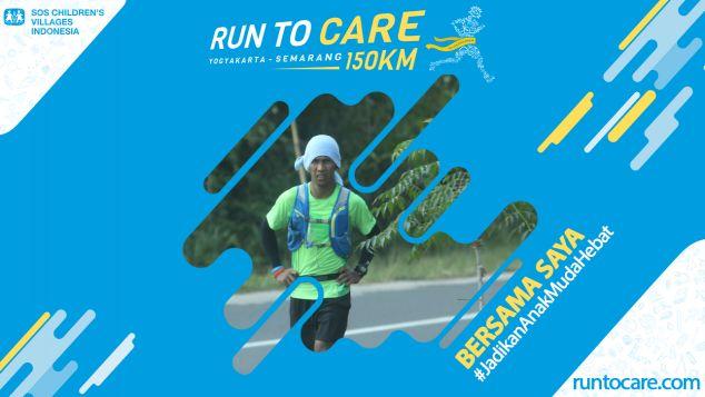 Samsudin Berlari 150 KM Demi 2.200 Anak Negeri