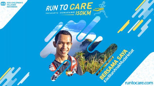 Ridwan Berlari 150 KM Demi 2.200 Anak Negeri