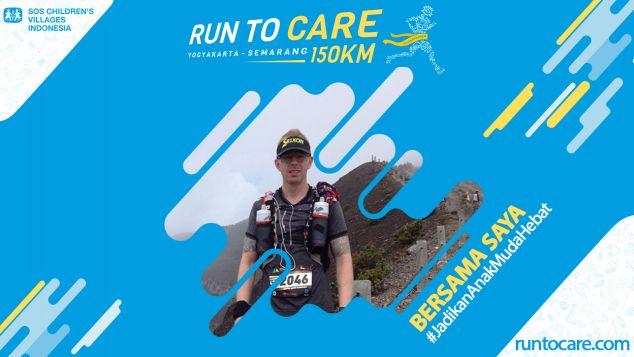 Stefan Berlari 150 KM Demi 2.200 Anak Negeri