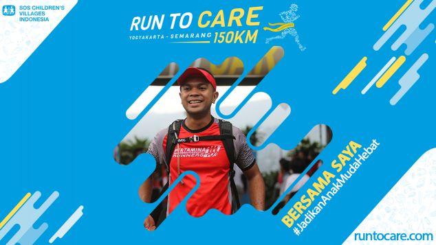 Stefanus Berlari 150 KM Demi 2.200 Anak Negeri