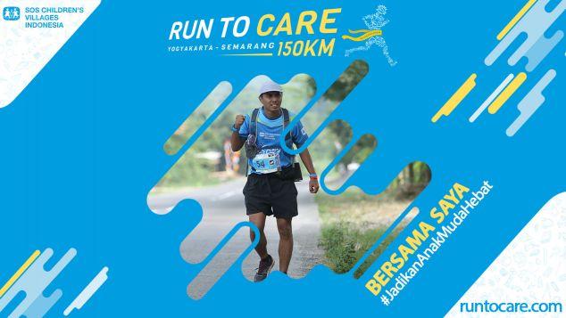 Bambang Berlari 150 KM Demi 2.200 Anak Negeri